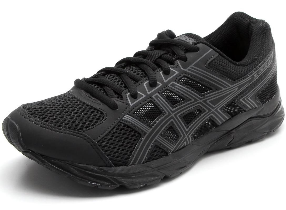 tênis asics gel contend 4 a masculino preto lançamento. Carregando zoom. 48696b8ded30e