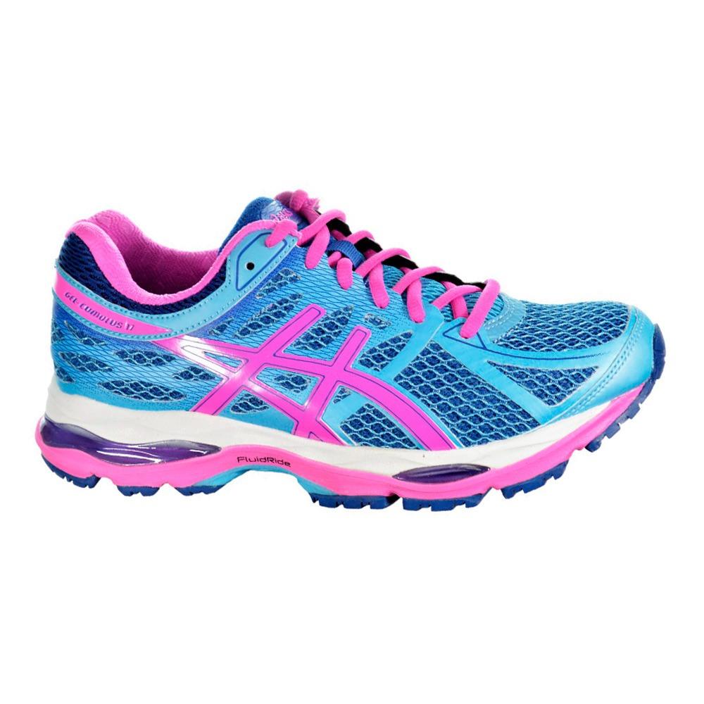 ad2b0ed446 tênis asics gel cumulus 17 feminino - azul e rosa. Carregando zoom.