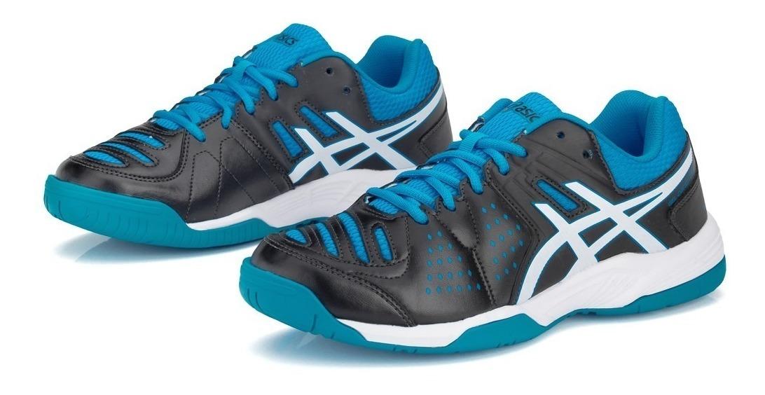 Resaltar apertura Elasticidad  Tênis Asics Gel Dedicate 4 - Preto Com Branco E Azul - R$ 299,90 em Mercado  Livre