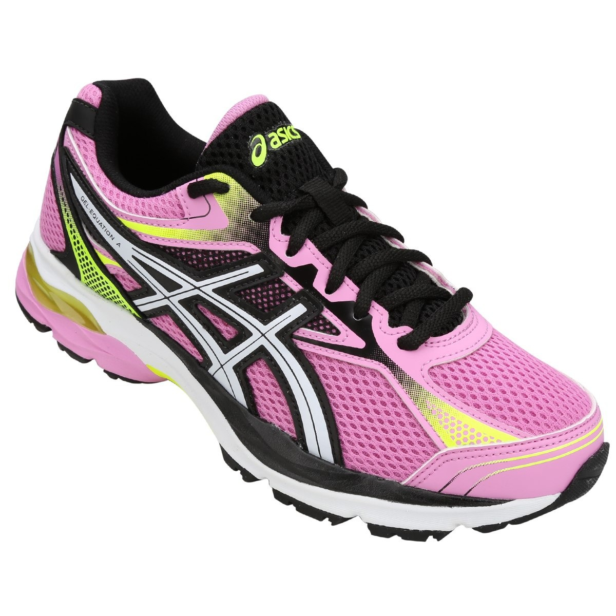 247bd1681c9 Tênis Asics Gel Equation 9 Feminino - Rosa E Preto - R  299