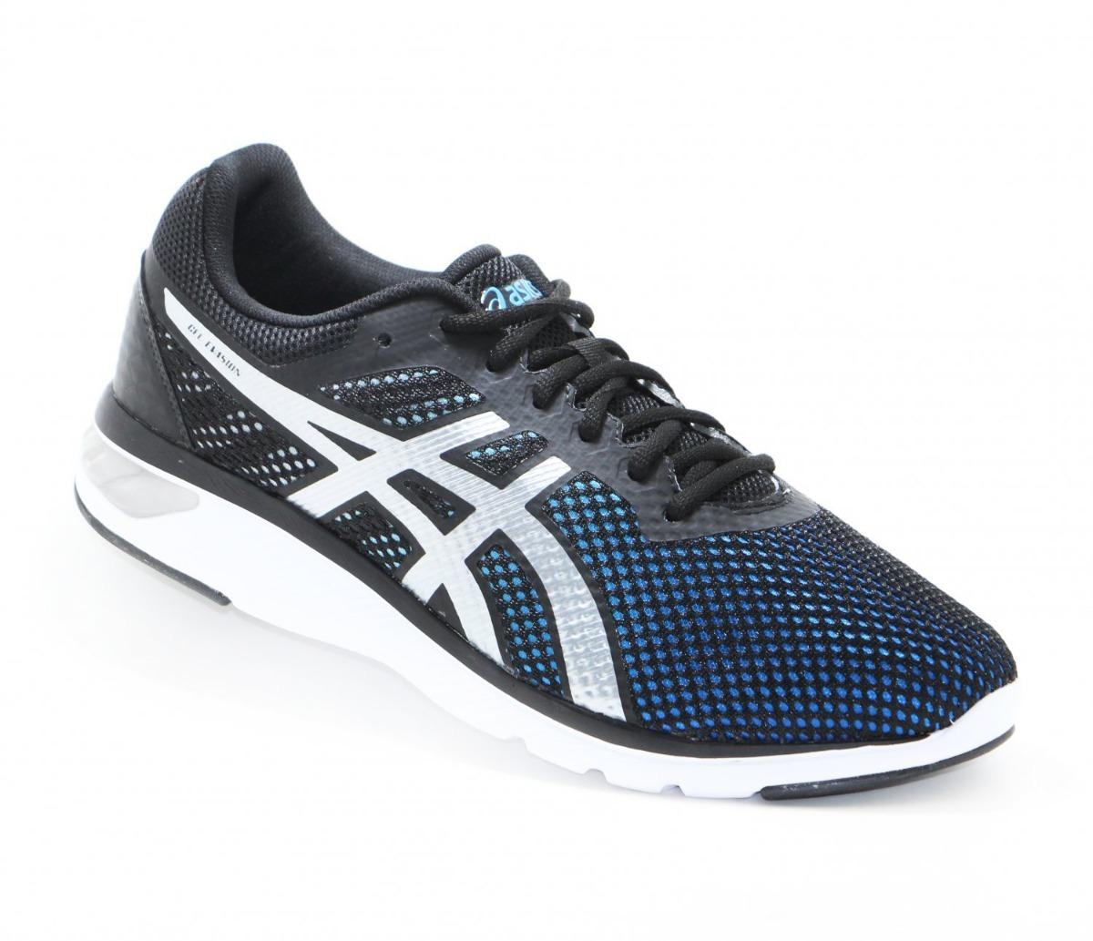 4117f3afa460b tênis asics gel evasion masculino preto azul original + nf. Carregando zoom.