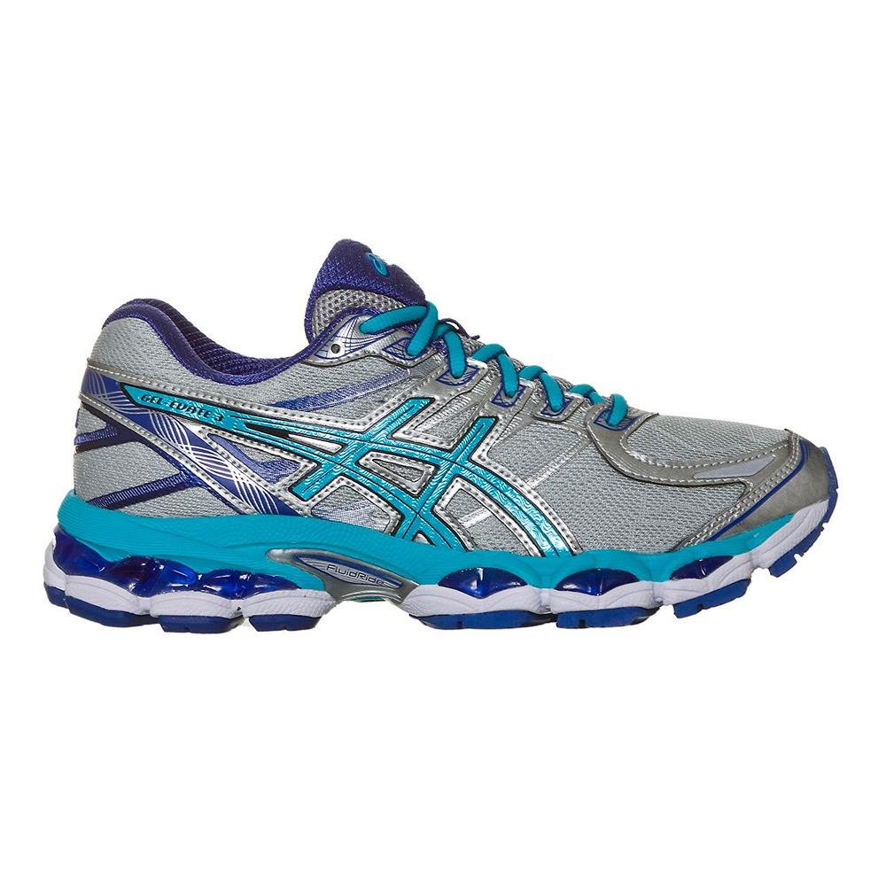 34f0e6b8fe5 tênis asics gel evate 3 feminino - cinza claro e azul. Carregando zoom.