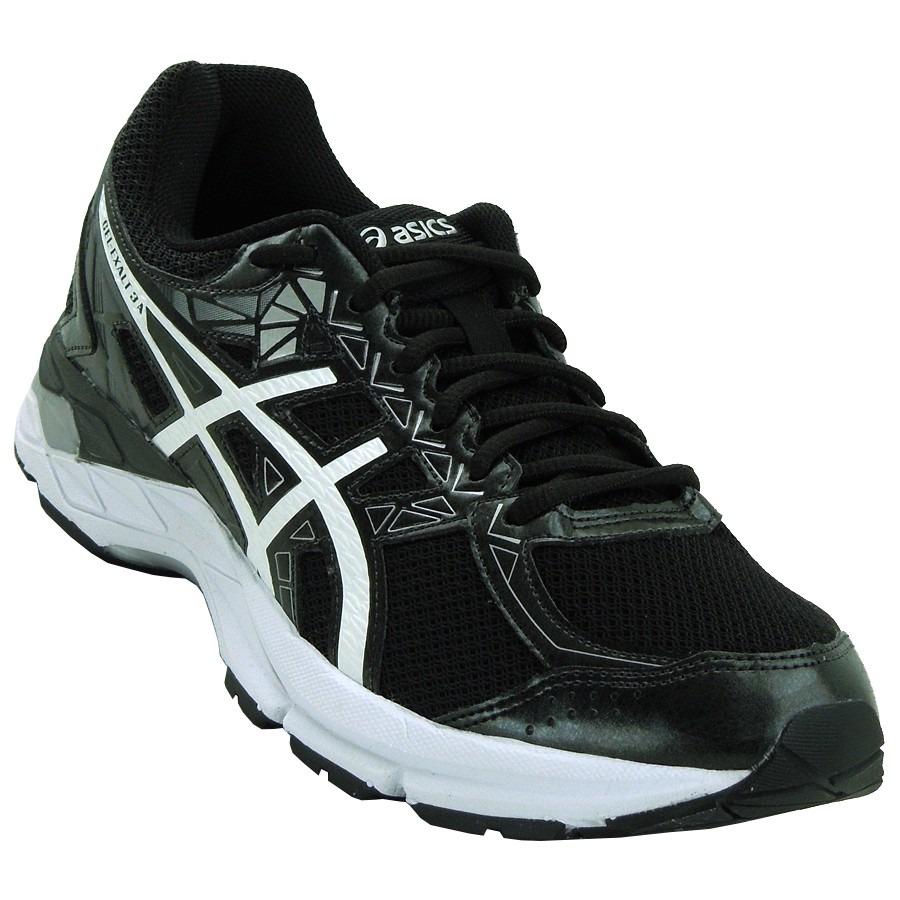 tênis asics gel exalt 3 preto branco prata masculino. Carregando zoom. 72d41546fe301