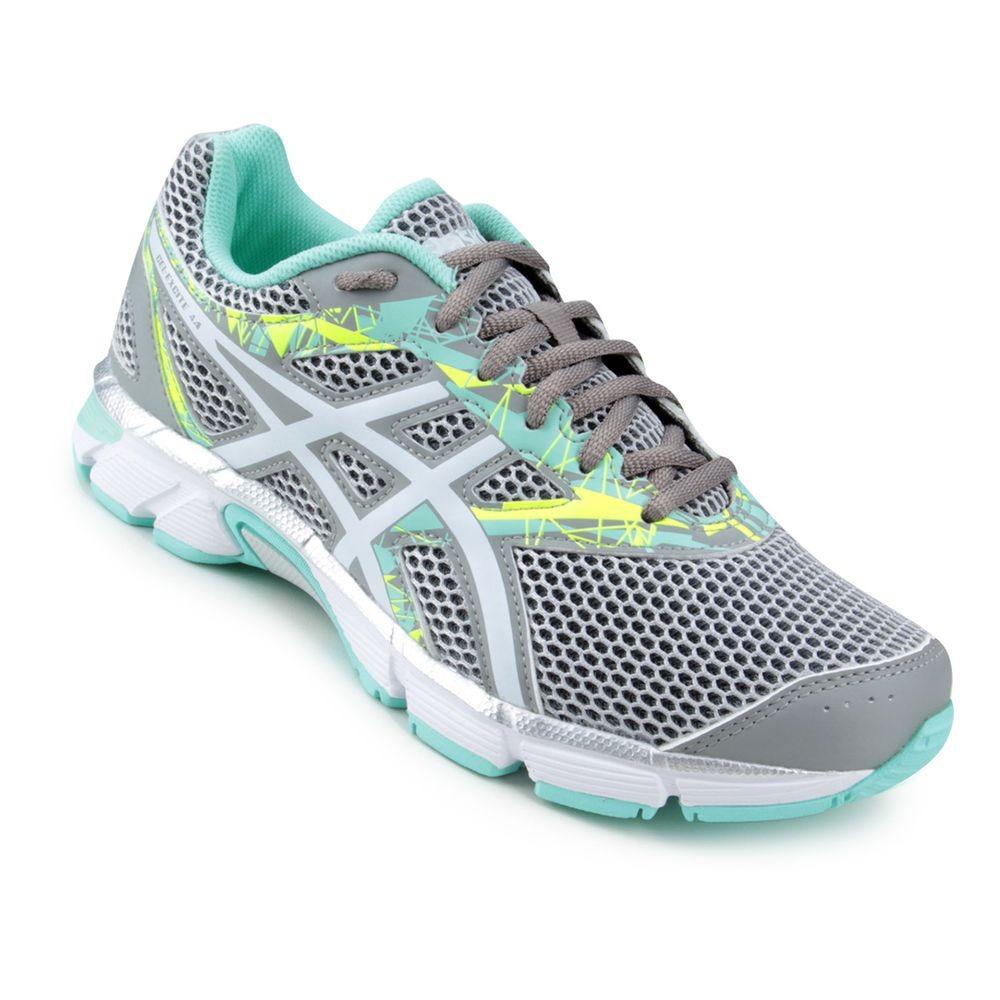 tênis asics gel excite 4 a - feminino - cinza verde água. Carregando zoom. 50275c463cd81