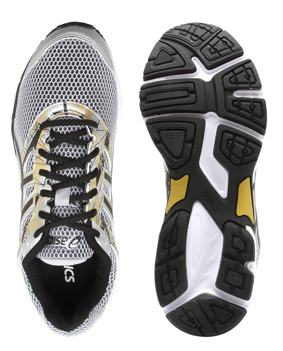 Tênis Asics Gel Excite 4 Masculino Prata  dourado Lançamento - R ... 335d9da39b1a2