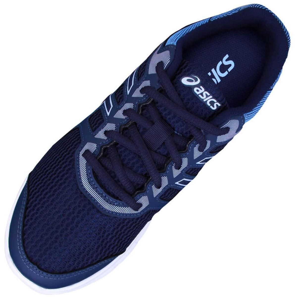 c1e89e1fb69 tênis asics gel excite 5 azul marinho feminino. Carregando zoom.