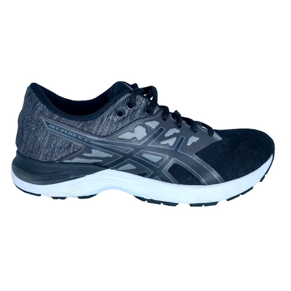 049ec34c10 tênis asics gel flux 5 a masculino - preto e cinza. Carregando zoom.