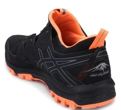 0c903325431 Tênis Asics Gel Fujirado -t7f2n9097 Black carbon hot Orange - R  450 ...