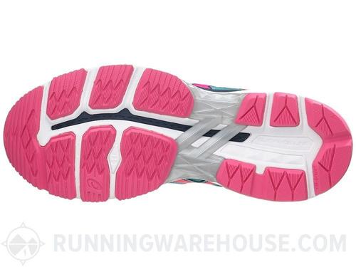 fc1b0fbda0a tênis asics gel gt 2000 4 - feminino - turquesa pink. Carregando zoom.