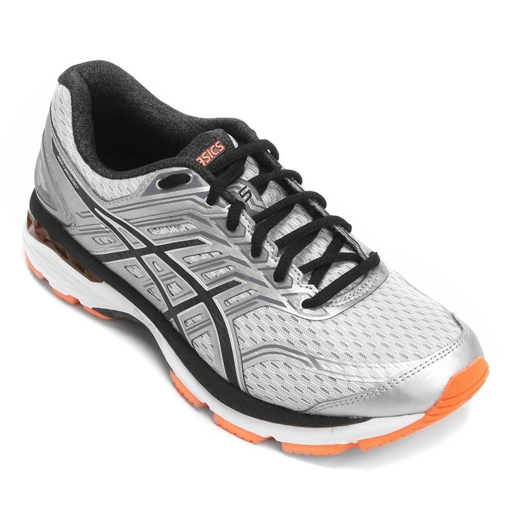 tênis asics gel gt 2000 5 - masculino - prata preto. Carregando zoom. 4dce77af375b7