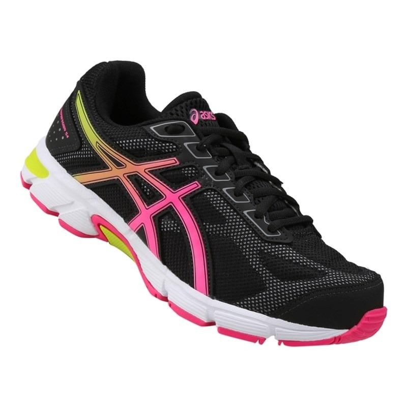 a0741107816 tênis asics gel impression 9 - preto e rosa. Carregando zoom.