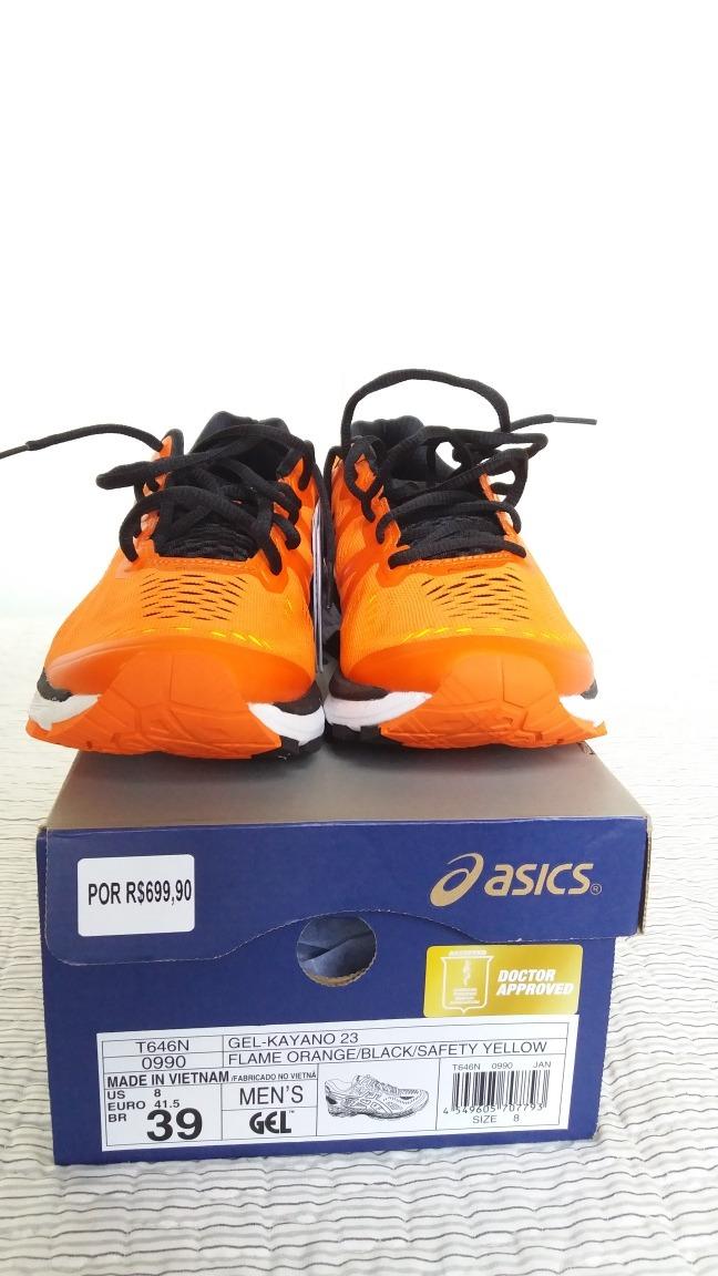 8408131006c8 Tênis Asics Gel Kayano 23 Flame Orange