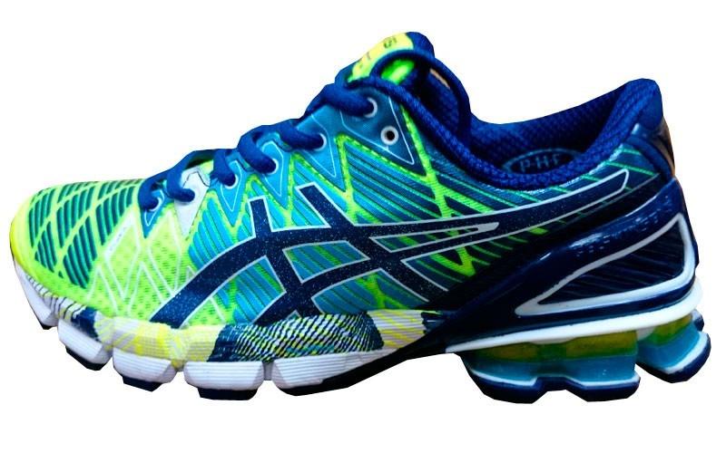 tênis asics gel kinsei 5 azul marinho e verde e azul bb. Carregando zoom. 0f753cee0bb7b