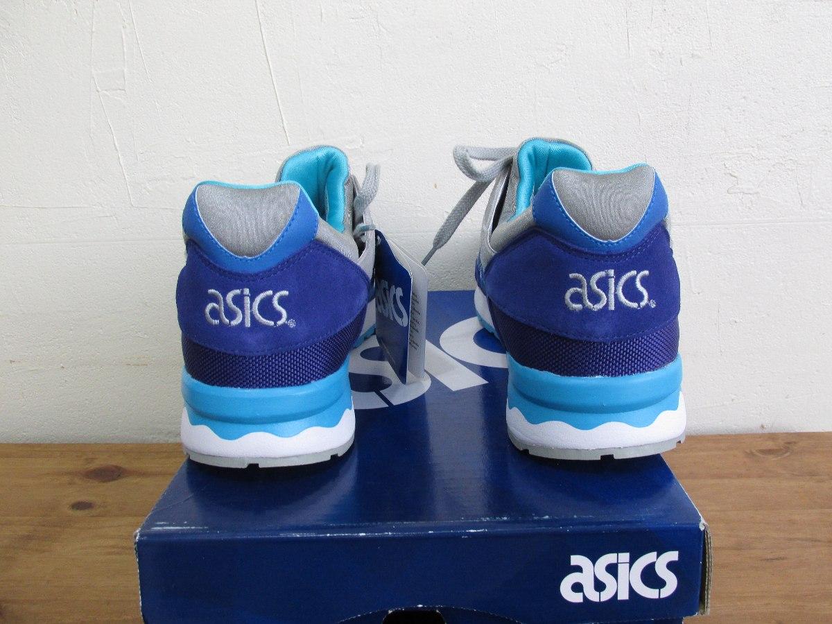 022a414f9a7 tênis asics gel lyte v dark blue light grey original conceit. Carregando  zoom.