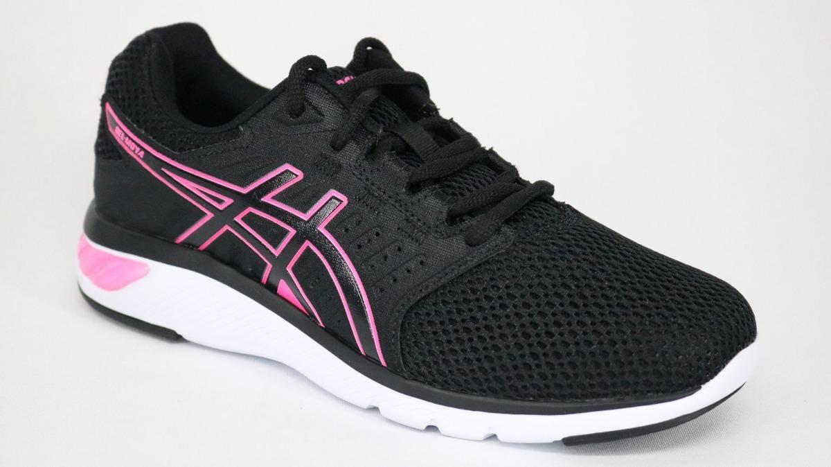 0006aaf6a6 tênis asics gel moya cadarço preto - 37 - preto pink. Carregando zoom.