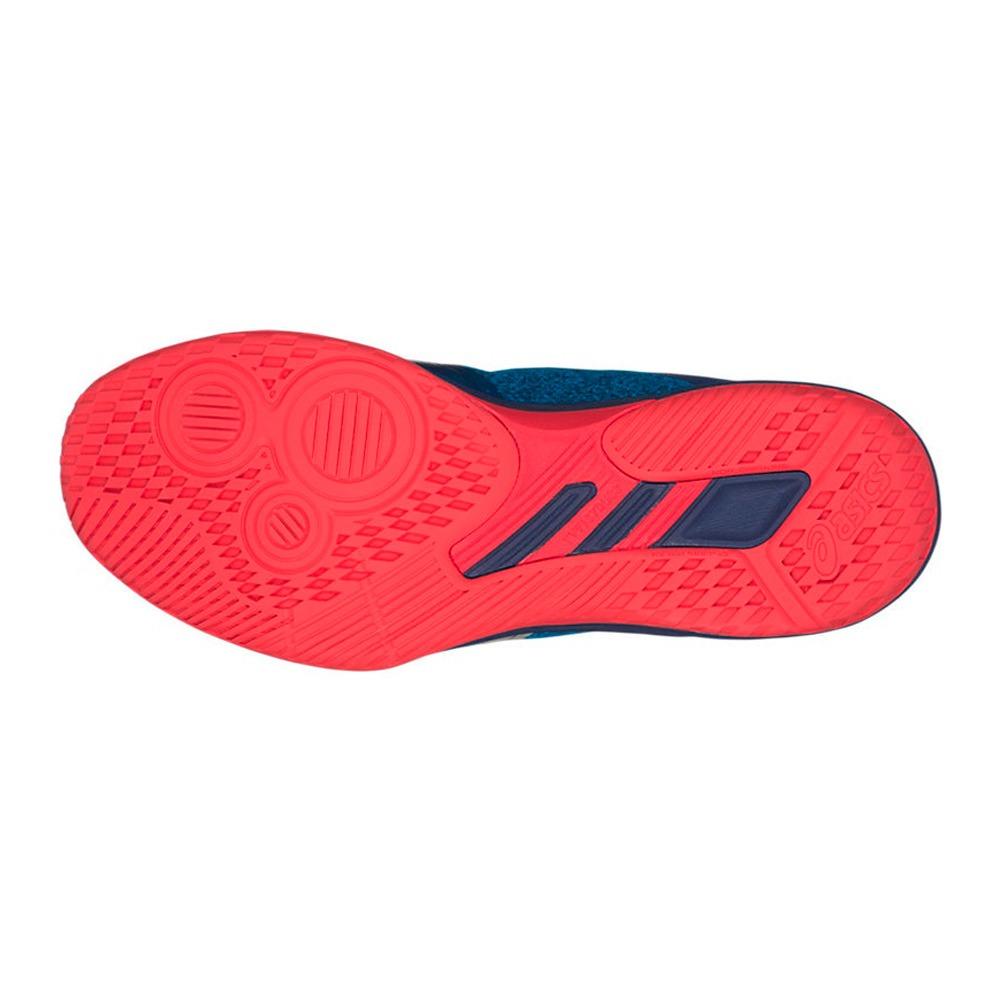 tênis asics gel netburner ballistic ff mt - azul e vermelho. Carregando  zoom. 4adb14ccc4ebf