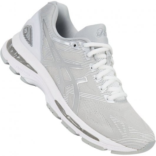 separation shoes 5c188 4291a Tênis Asics Gel-nimbus 19 Cinza/branco T750n-9693 Original