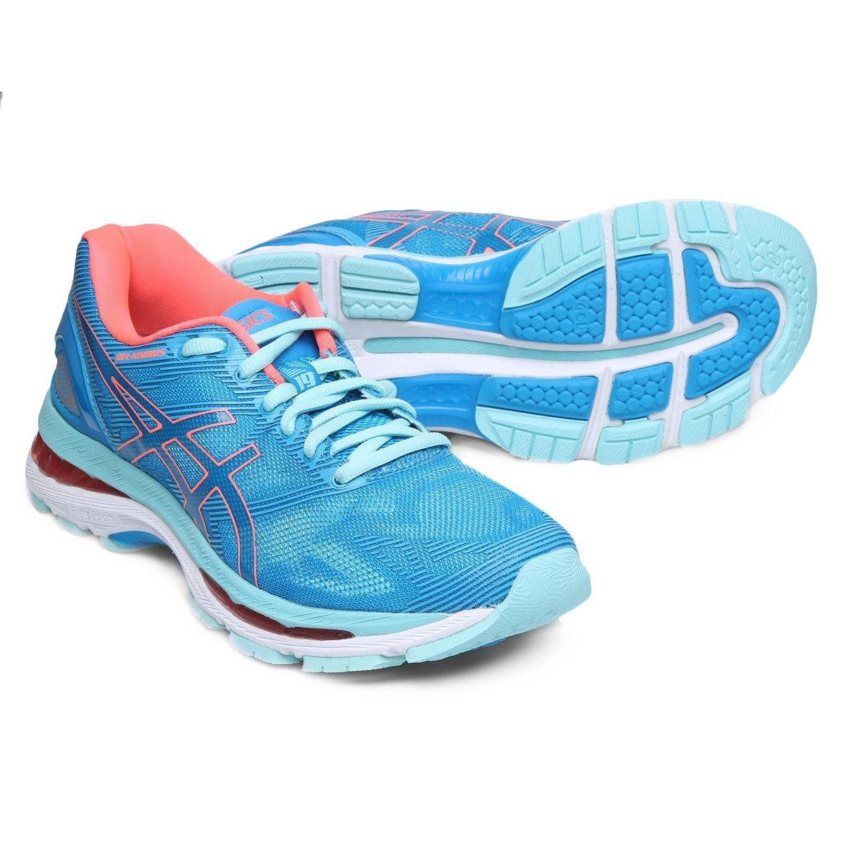 d29c310191e tênis asics gel nimbus 19 feminino - azul. Carregando zoom.