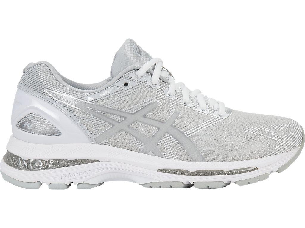 tênis asics gel nimbus 19 feminino cinza branco original  . Carregando zoom. f6c1e60290e7c