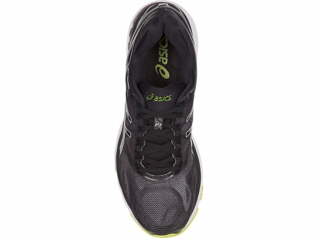 ... 209f3b926b9 tênis asics gel nimbus 19 masculino preto verde original . Carregando  zoom. ... c2a0611ac713e