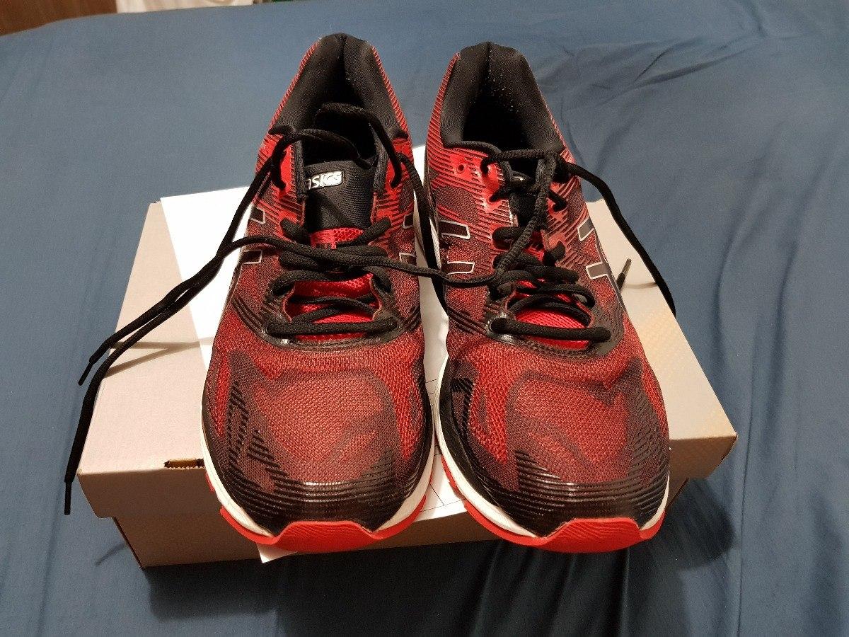 tênis asics gel nimbus 19 masculino vermelho preto 43 lindo. Carregando  zoom. 746498c7e4ee6