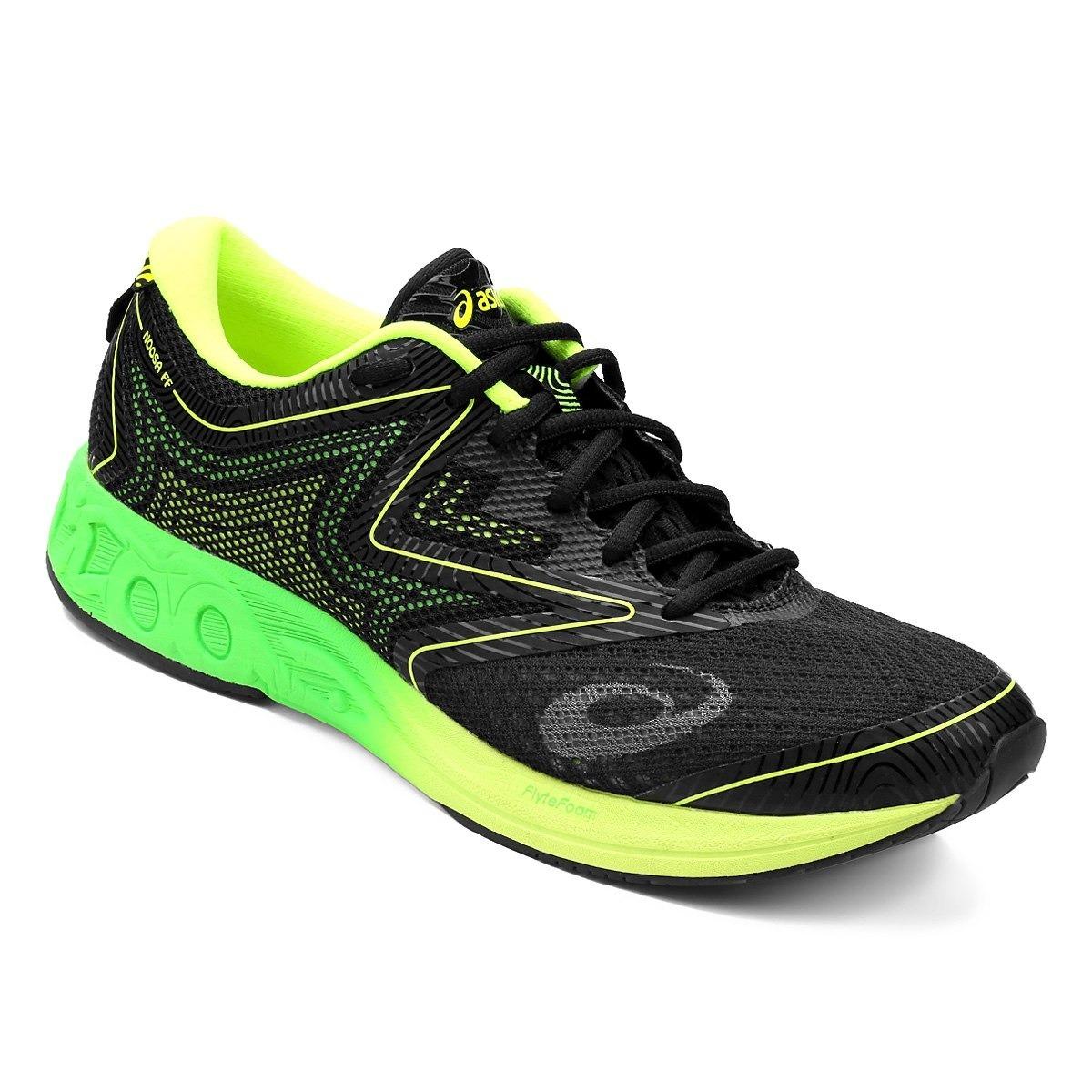 42c470d4f10 tênis asics gel noosa ff masculino - preto verde 40 promoção. Carregando  zoom.