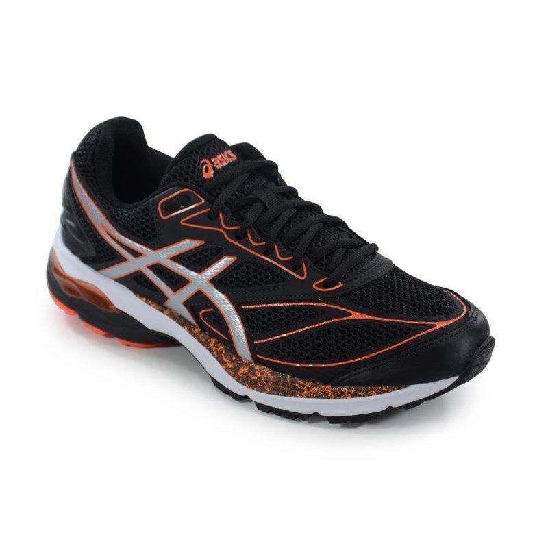tênis asics gel pulse 8 a preto laranja - t025a-9092. Carregando zoom. 21ce99bb47314
