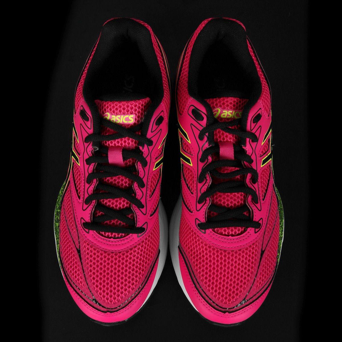 tênis asics gel pulse 8 pink e preto. Carregando zoom. 4c410a0049100