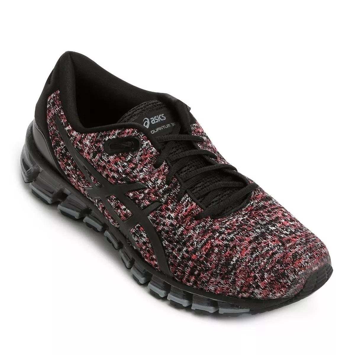 tênis asics gel-quantum 360 knit 2 masculino - preto e cinza. Carregando  zoom. 1c4792c8be5ed