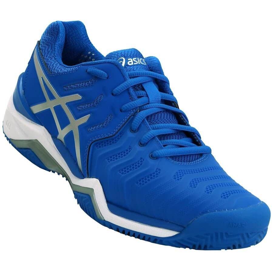 07159f128a7 tênis asics gel resolution 7 clay azul. Carregando zoom.