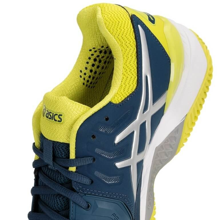 0be2ba458e7 Tênis Asics Gel Resolution 7 Clay Azul Petróleo E Verde Li - R  599 ...