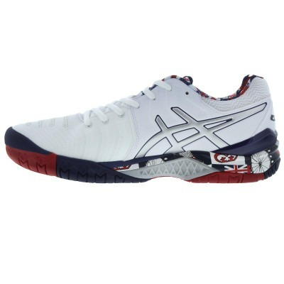 Tênis Asics Gel Resolution 7 Ed. London Wimbledon Masculino - R  522 ... 814454cb135bb