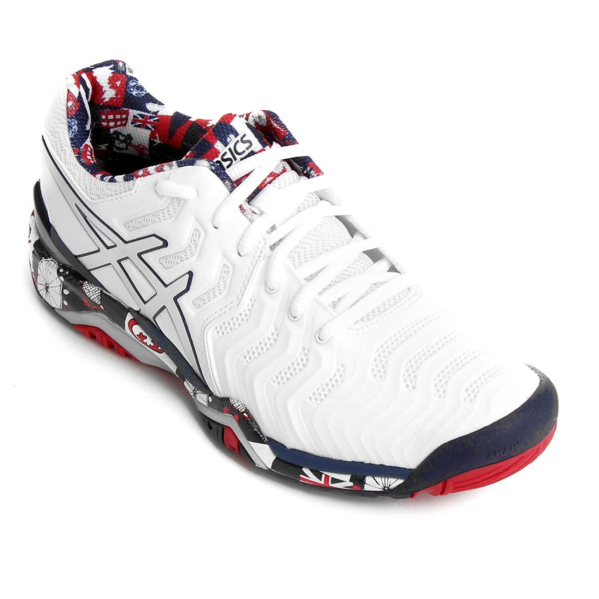 tênis asics gel resolution 7 ed. london wimbledon masculino. Carregando zoom . b078d0917abe1