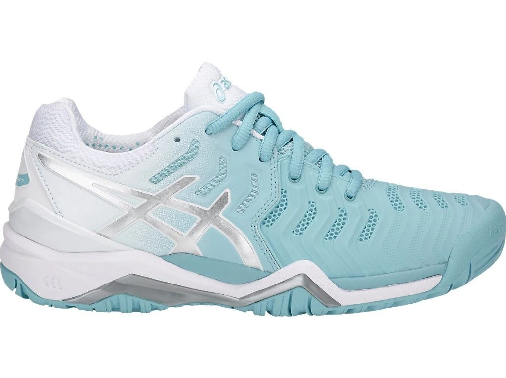 141015f6e tênis asics gel resolution 7 feminino azul claro. Carregando zoom.