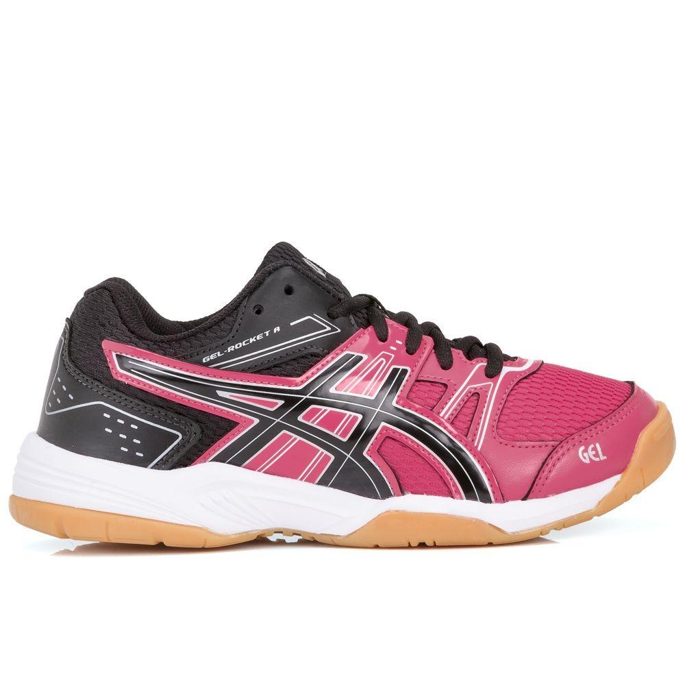tênis asics gel rocket 7 rosa e preto. Carregando zoom. a0320c971e16b