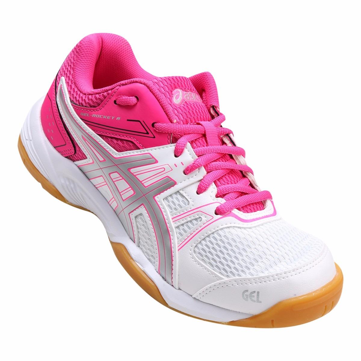 defb5f3c482 tênis asics gel rocket 7a feminino futsal handebol voleibol. Carregando  zoom.