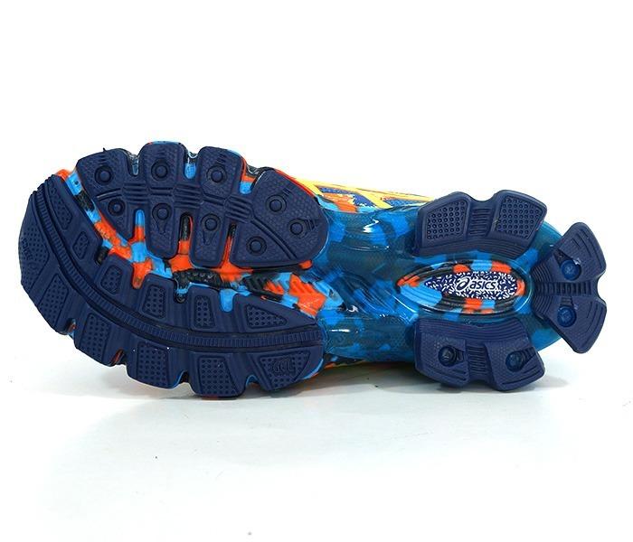 Tênis Asics Gel Sendai 2 Azul E Laranja - R  300 a31fde6afd005