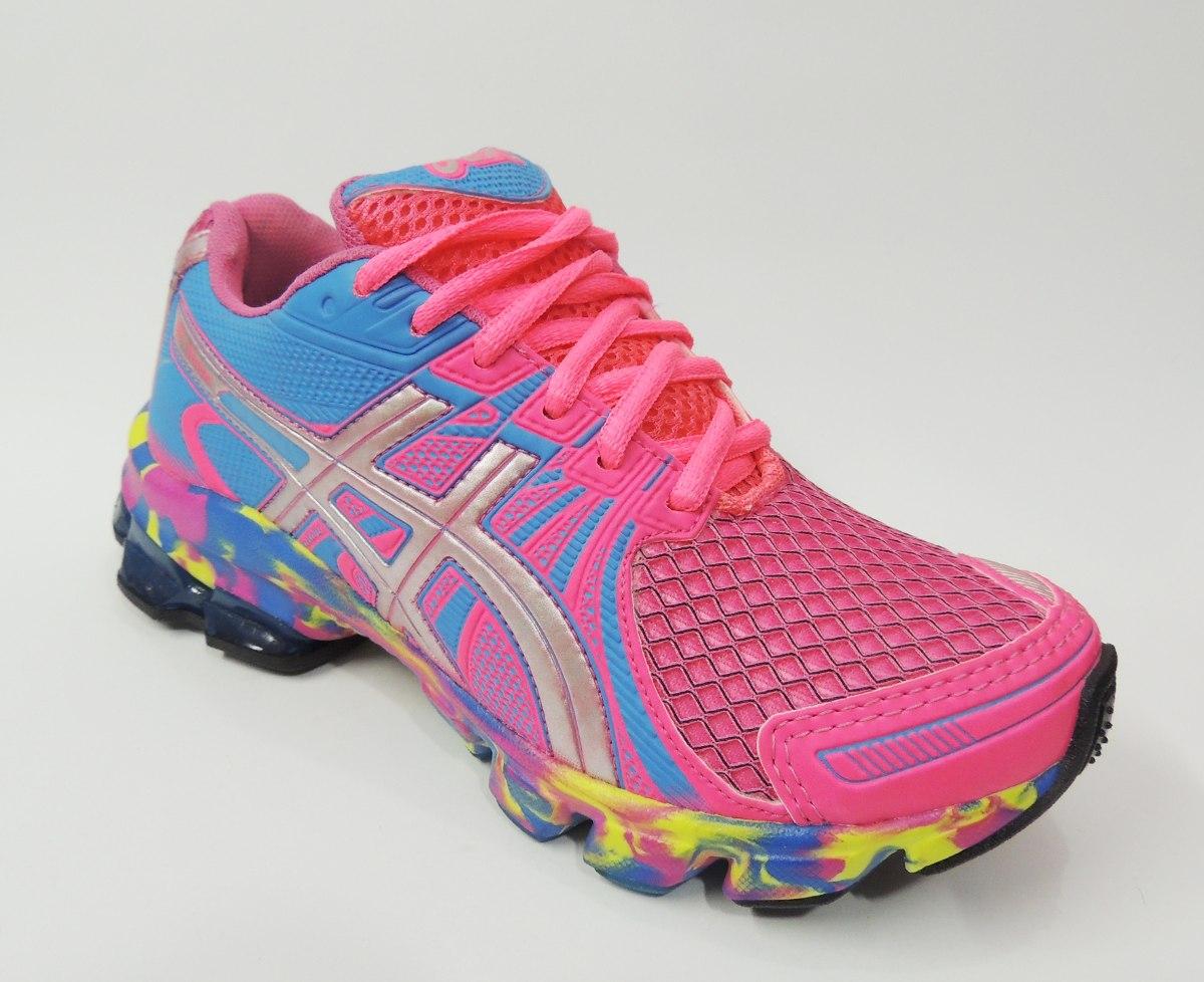 be3546cc721 tênis asics gel sendai pink rosa bebe lindo feminino  lt 3. Carregando zoom.