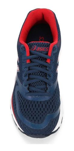 tênis asics infantil gel pulse azul menino 1z14a001400