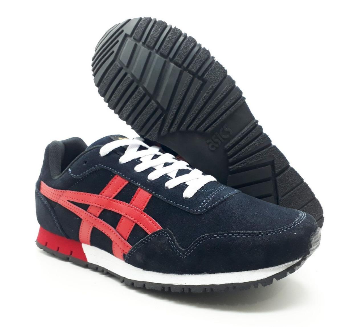 3bbc41ff069 Características. Marca Asics  Modelo Onitsuka  Gênero Masculino  Estilo  Tênis  Material do calçado Couro ...