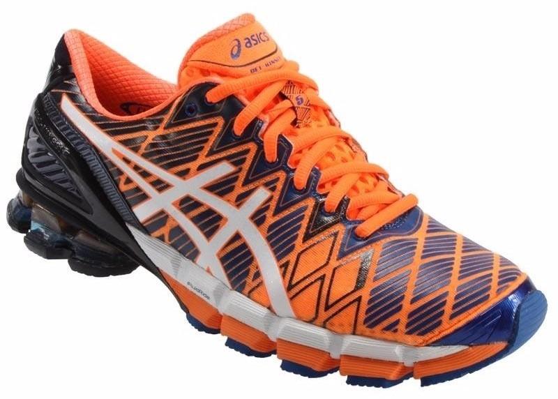 Tênis Asics Kinsei 5 Gel Running Masculino Cinza E Preto - R  309 016b194ad542d