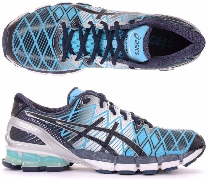 tênis asics kinsei 5 gel running masculino azul e amarelo · tênis asics  running masculino df465a3c2668f