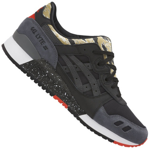 tênis asics tiger gel lyte 3 graphic limited edition pto