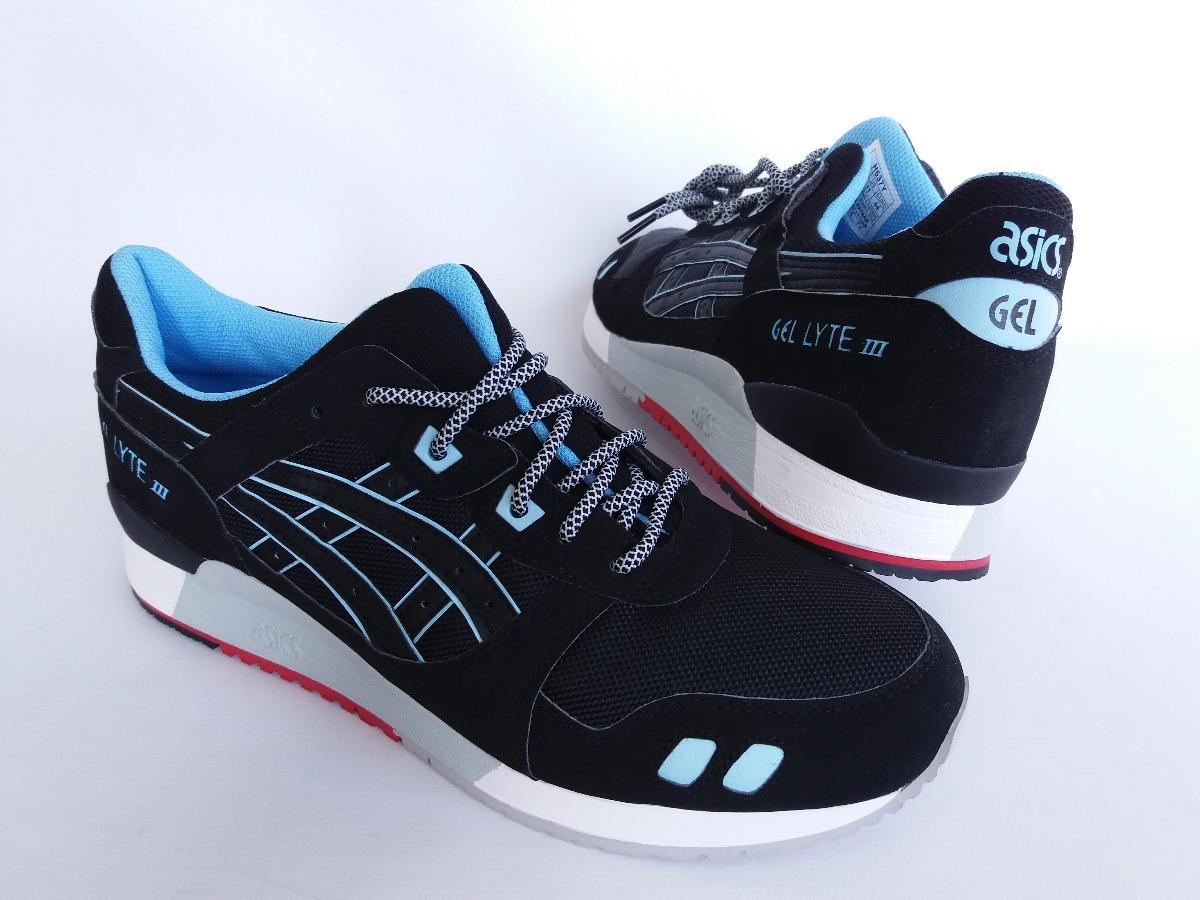 tênis asics tiger gel lyte 3 iii preto azul original. Carregando zoom. ab6641395de4f