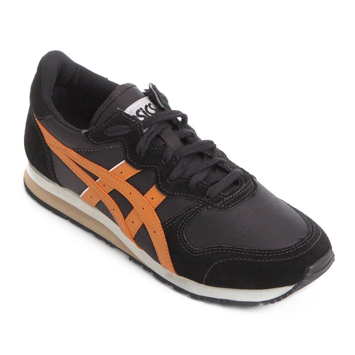 new style d7e76 e2e48 Tênis Asics Tiger Oc Runner Preto Sneakers Original + N F