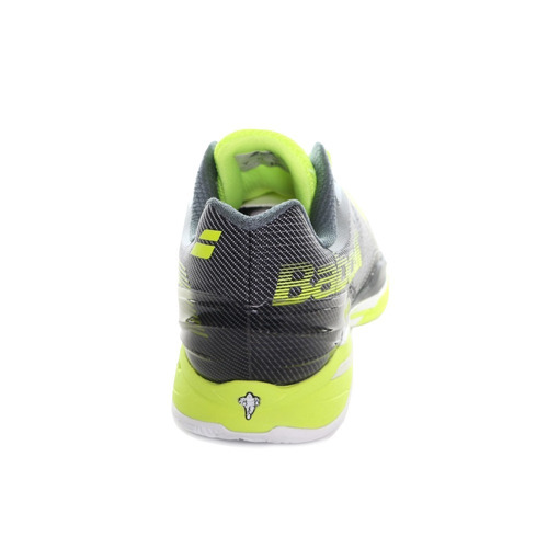 tênis babolat jet clay men yellow grey kevlar tennis saibro