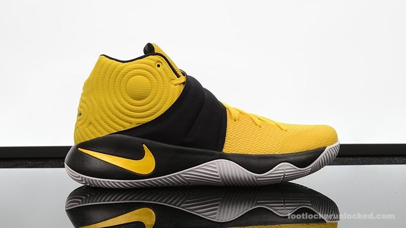 7e7584fbbf8 Tênis Basquete Nike Kyrie 2 Amarelo Preto Nba Pronta Entrega - R ...