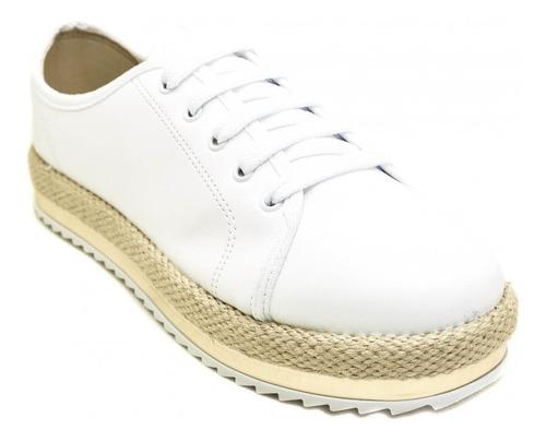 tênis beira rio conforto oxford feminino flatform original