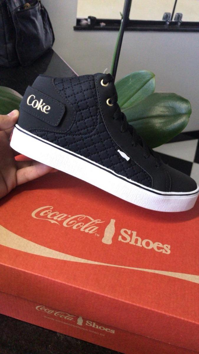 f0adacf8771 tênis bota botinha coca cola feminino coke promoção. Carregando zoom.