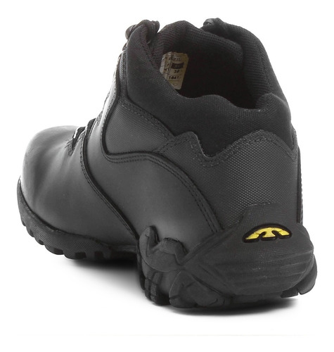 tênis bota bullterrier bruce masculino couro cadarço liso